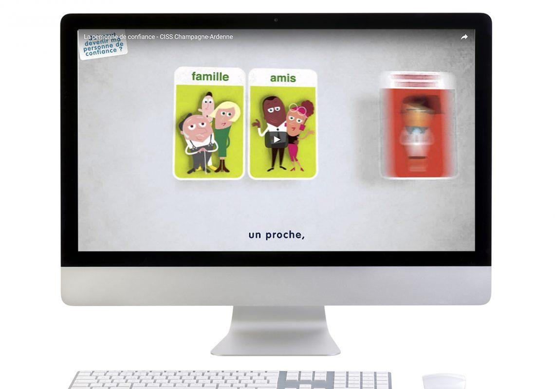 vidéo Personne de Confiance pour le CiSS Collectif Interassociatif pour la Santé en CHampage-Ardenne