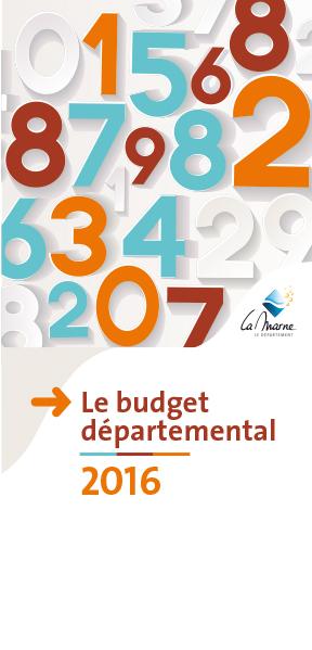 Budget départemental 2016